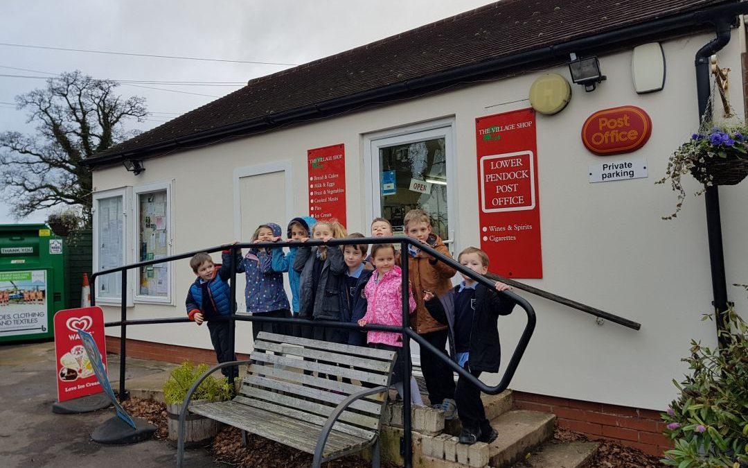 Class 1 Visit to Pendock Shop